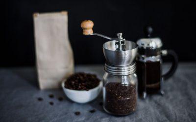 How do you store ground coffee for maximum freshness?